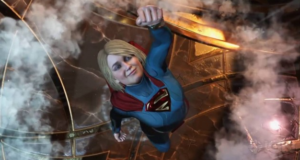 В сети появился геймплейный ролик Injustice 2 с Супергерл