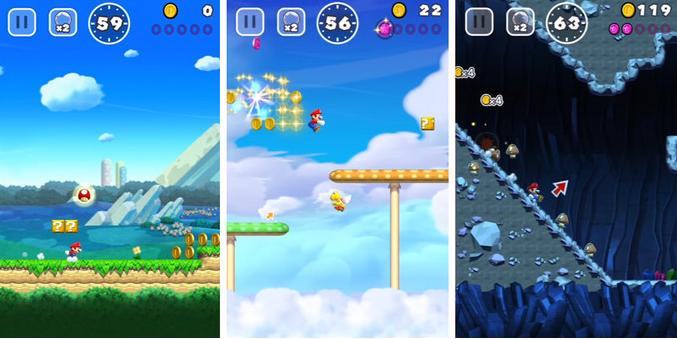 Mario run для андроид
