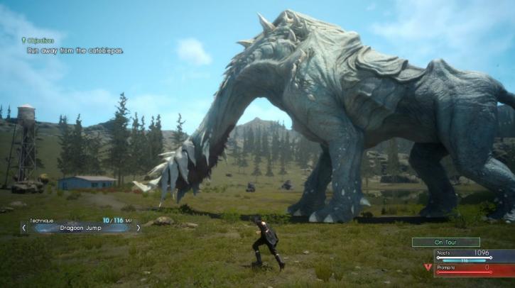 Final Fantasy 15 лучшая ролевая игра