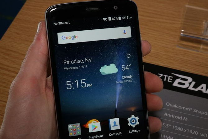 ZTE Blade V8 Pro - еще один бюджетный смартфон
