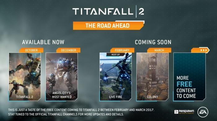 Бесплатные дополнения для игры стрелялки Titanfall 2 скоро появится новая игровая карта