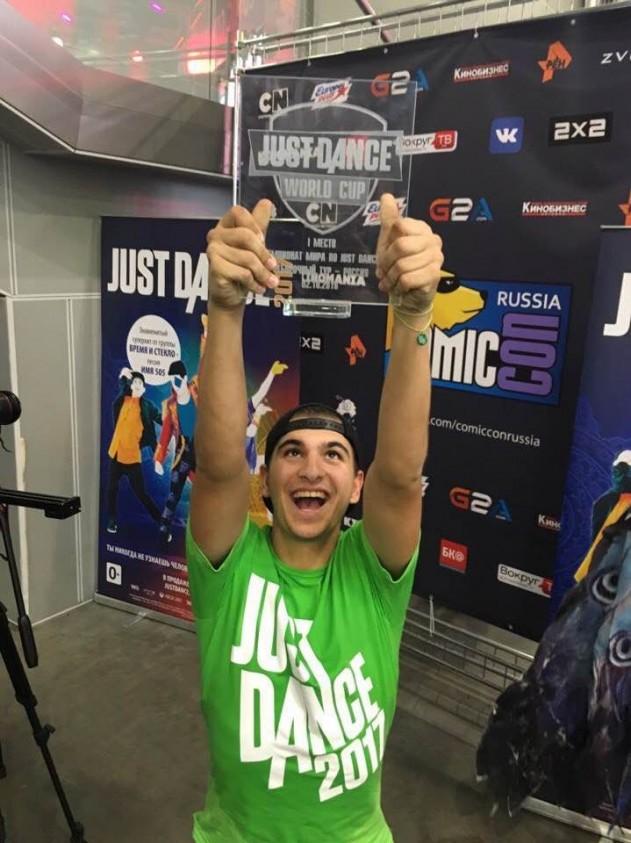 Игры для мальчиков в финале Just Dance 2017 и два россиянина