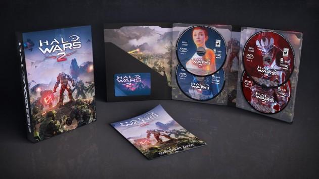 Играть в игры Halo Wars 2 на дисках раньше всех