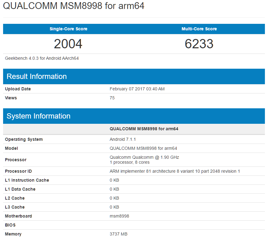 Photo of По результатам тестов производительность Snapdragon 835 для Samsung Galaxy S8 будет не хуже, чем у Galaxy S7