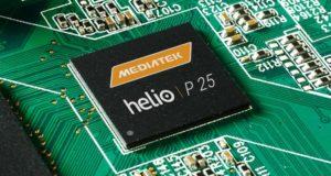 MediaTek представила чипсет Helio P25