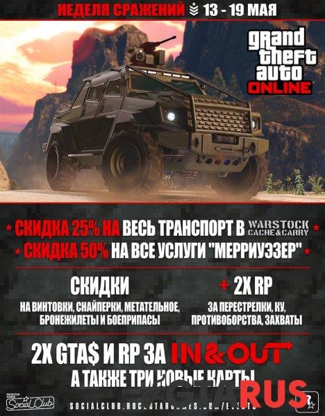 Photo of в GTA Online неделя сражений большие скидки на технику и многое другое