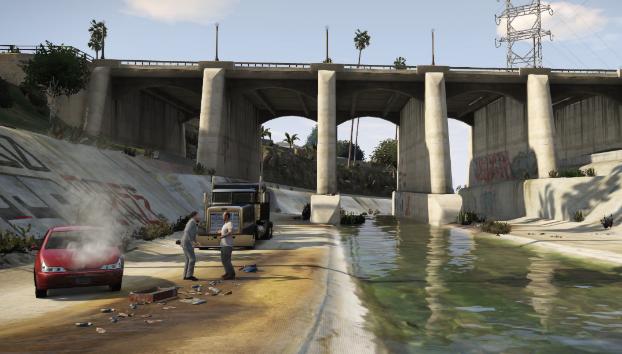 Grand Theft Auto V лучшая игра