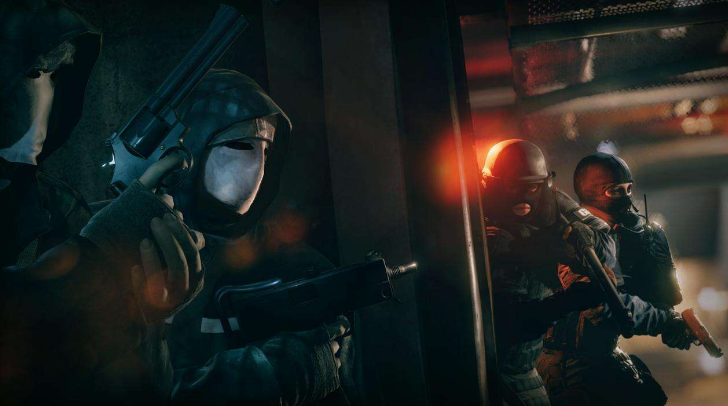 Rainbow Six Siege Operation Velvet Shell стрелялка