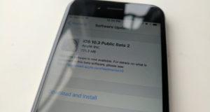 Apple выпустила вторую публичную бета версию ОС iOS 10.3