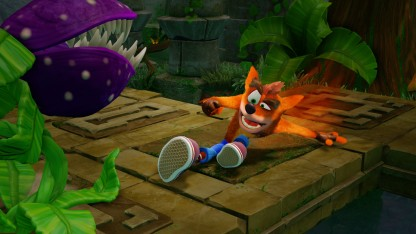 Первая геймплейная картинка к игре Crash Bandicoot Sane Trilogy