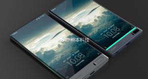 Безрамочный смартфон от Sharp может появиться в ближайшее время