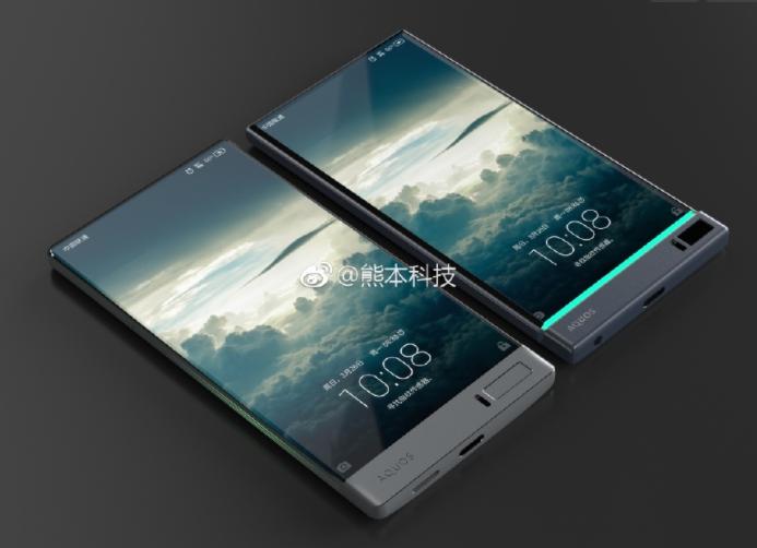 Photo of Безрамочный смартфон от Sharp может появиться в ближайшее время