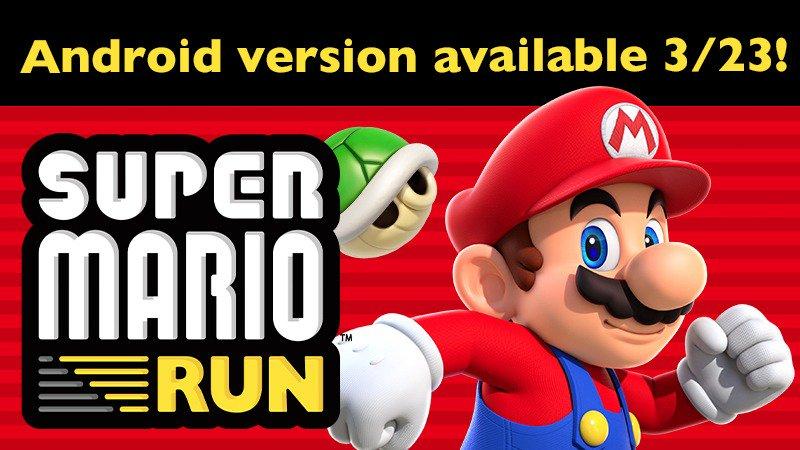 Photo of Nintendo объявила о выпуске Super Mario Run на Android 23 марта