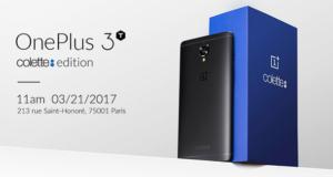 Официально представили OnePlus 3T Colette: черный цвет и 128 Гб флэш памяти
