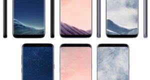 В Сеть просочилась информация о цветах и цене Samsung Galaxy S8