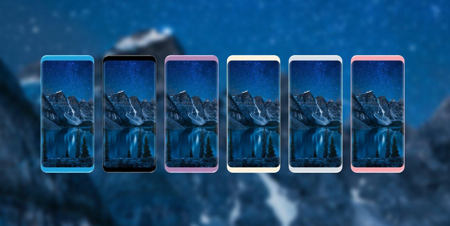 Photo of Изображение демонстрирует все предполагаемые цвета Samsung Galaxy S8