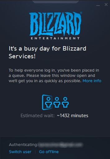 Photo of Очередная DDoS атака на сервера Blizzard не позволяет подключиться к играм