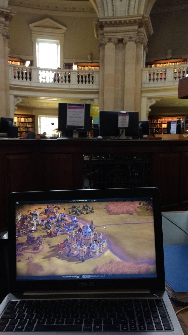 Photo of Игрок Civilization VI построил Оксфорд в настоящем Оксфорде