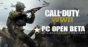 Открытый бета тест Call of Duty: WWII начнётся на PC в конце сентября, а пока— минимальные требования