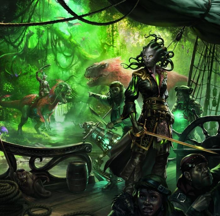 Photo of Пираты, динозавры, вампиры и мерфолки — новый выпуск «Иксалан» для Magic: The Gathering уже в продаже