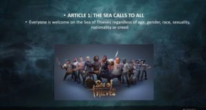 Создатели Sea of Thieves говорят про «Пиратский кодекс» и систему прогресса