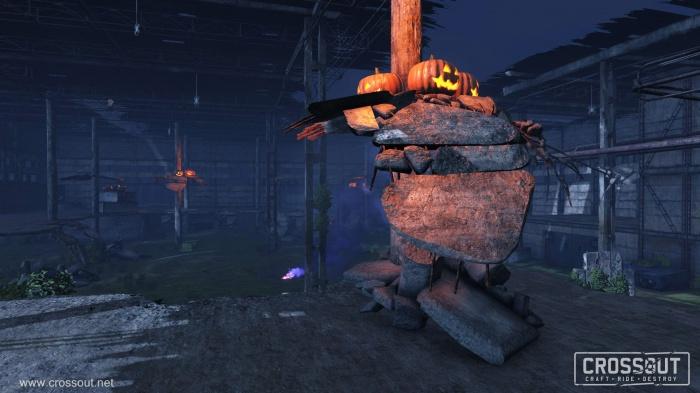 В Crossout стартовала «Ведьмина охота» с шарами и опасными сладостями