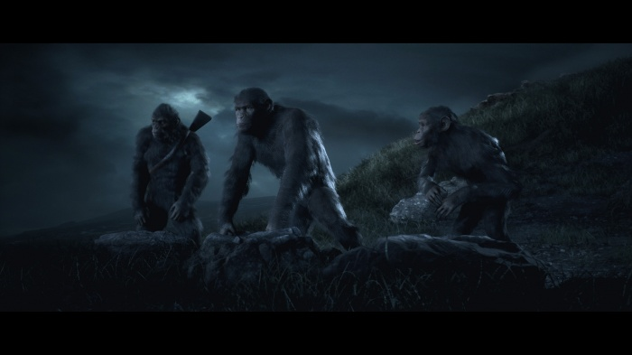 Пример непростого выбора в Planet of the Apes: Last Frontier