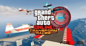 Новый гоночный режим в GTA 5 под названием «Трансформации»