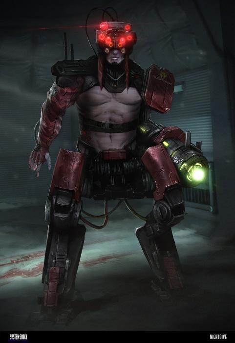 Создатели перезагрузки System Shock рассказывают о своей работе и показывают новые иллюстрации