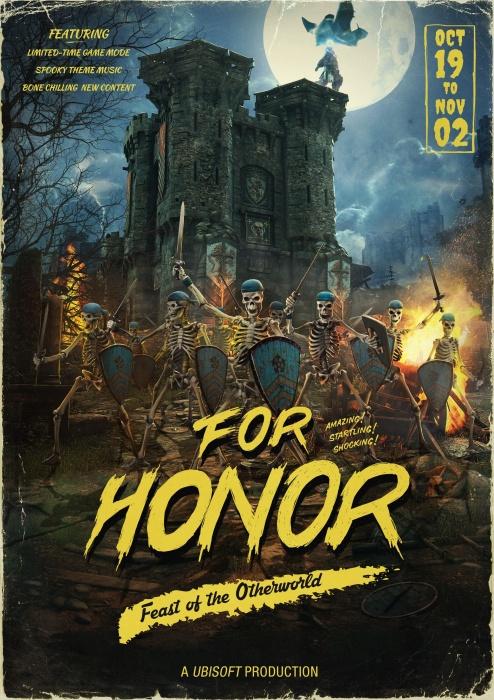 «Потусторонний пир» превратил For Honor в «Бесконечную битву»