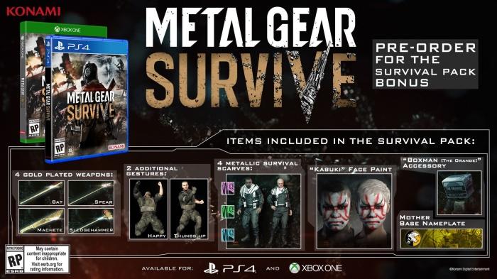 Photo of Metal Gear Survive выйдет в феврале на PC, PlayStation 4 и Xbox One