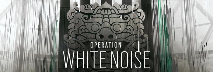 Operation White Noise завершит второй год Rainbow Six Siege