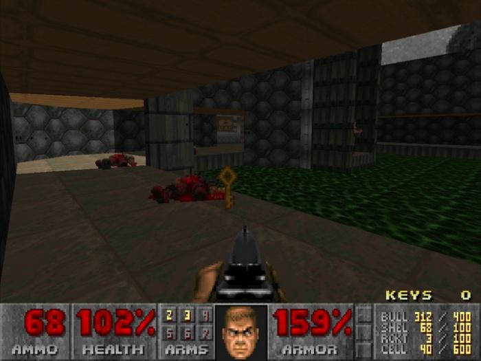 Теперь в классической Doom тоже можно выбивать лутбоксы