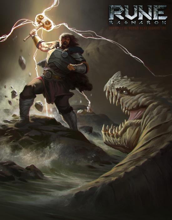 Photo of Первый концепт-арт Rune: Ragnarok с богами