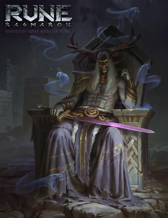 Первый концепт-арт Rune: Ragnarok с богами