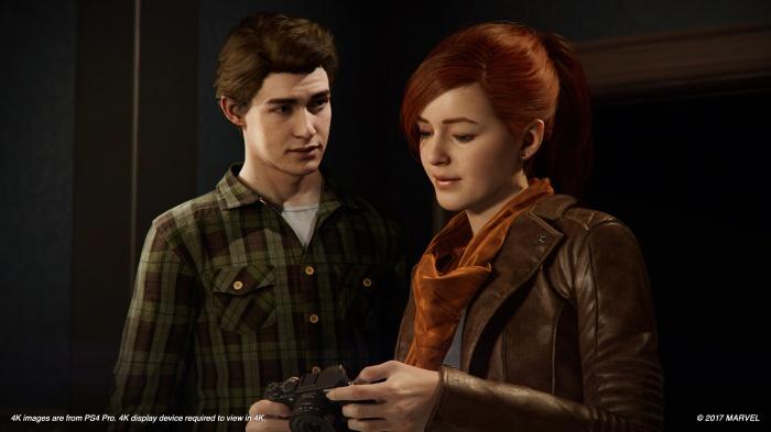 В Spider-Man у Питера Паркера с Мэри Джейн всё сложно