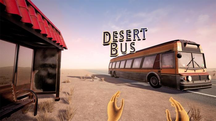 Gearbox выпустила VR-версию Desert Bus— культовой игры про многочасовую поездку сквозь пустыню