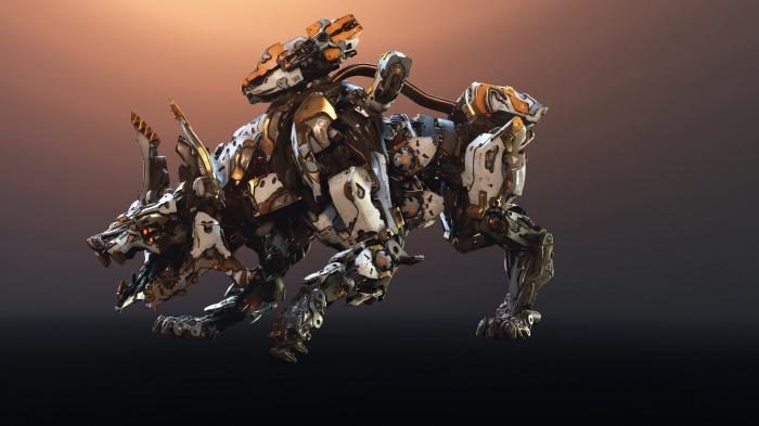 Создатели Horizon: Zero Dawn — The Frozen Wilds знакомят с новым опасным робозавром