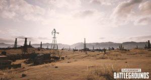 Еще больше скриншотов пустынной карты PUBG