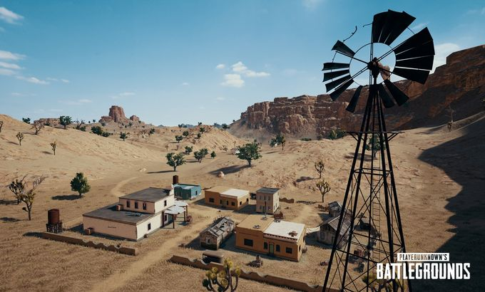 Photo of Пустынная карта PUBG получила название и новые скриншоты