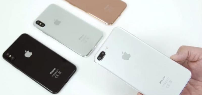 iPhone 7s Plus сравнили с iPhone X в новом видео