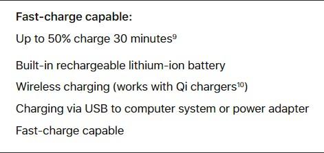iPhone X, iPhone 8 и 8 Plus поддерживают функцию быстрой зарядки