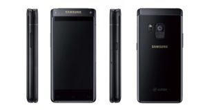 Samsung выпустит высококлассный смартфон раскладушку