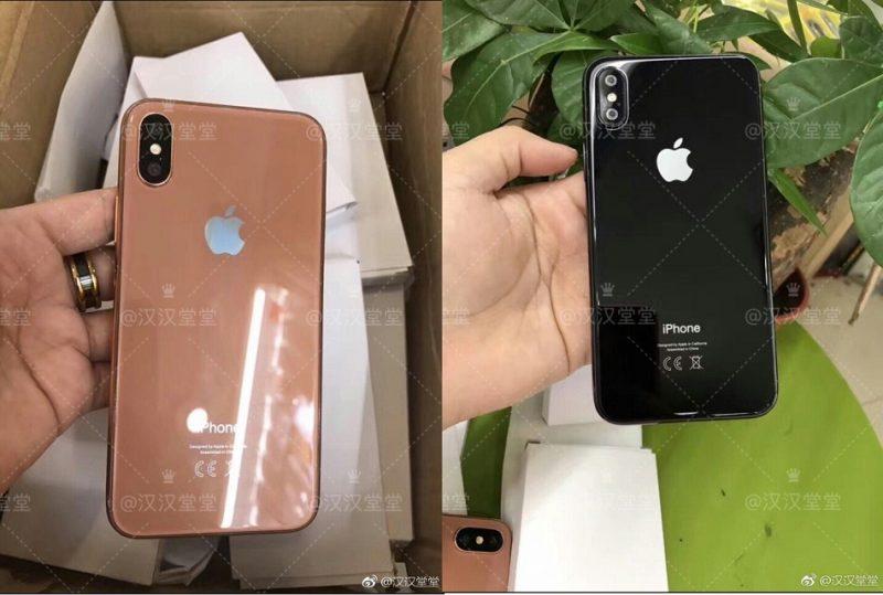 iPhone X выйдет в трех цветах
