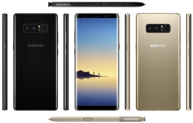 Стали известны финальные характеристики Samsung Galaxy Note 8