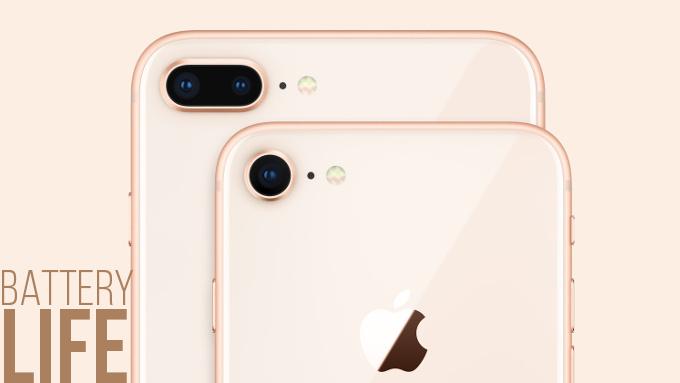 iPhone 8 Plus показал лучшее время автономной работы среди iPhone