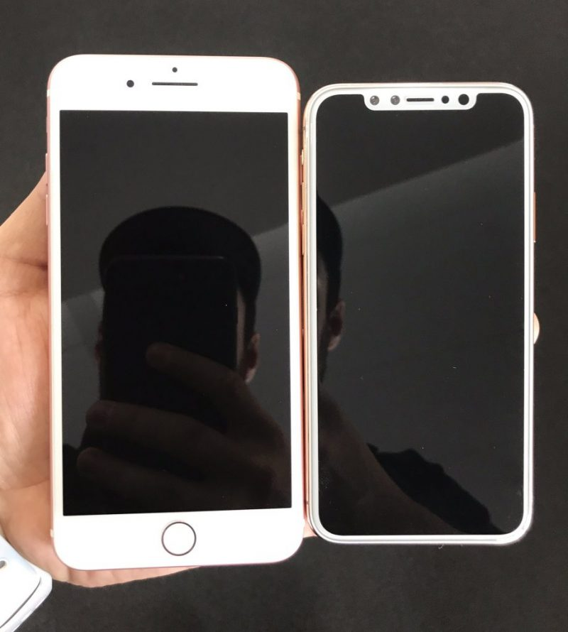 iPhone X будет обладать большим дисплеем в меньшем корпусе