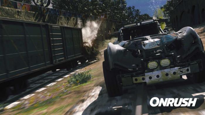 Безбашенная аркадная гонка Onrush от авторов Motorstorm стартует в июне