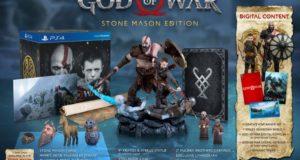 В комплект коллекционного издания God of War войдут статуэтка Кратоса и брелок в виде говорящей головы