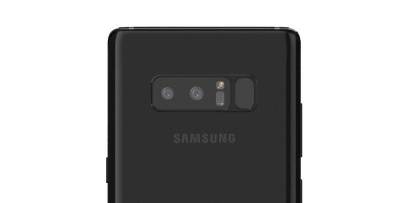 Samsung Galaxy Note 8 выйдет с 3-кратным оптическим зумом